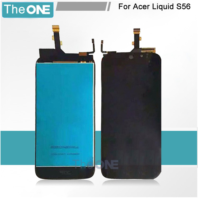 100% Tested New For Acer Liquid Jade S S56 LCD Display + Digitizer Touch Screen Replacement Cell Phone Parts Free shipping wholesale price for acer liquid jade s55 lcd display digitizer touch screen for acer liquid jade lcd free shipping
