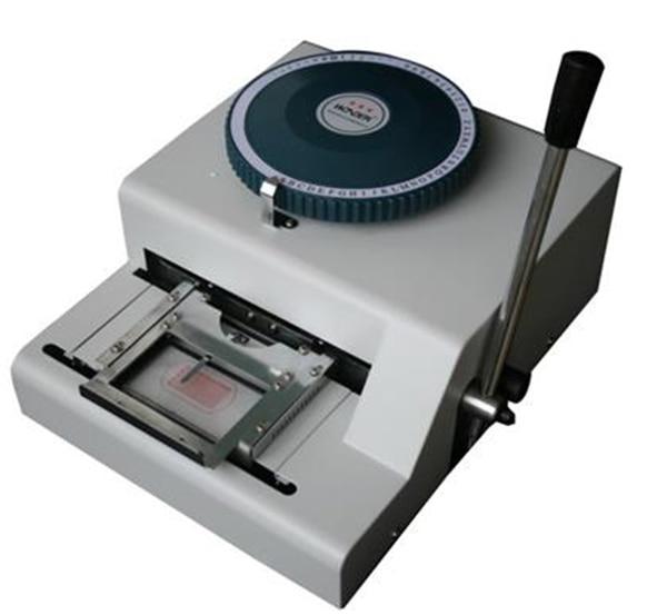 vip kartica reljefni stroj za prodaju cijena pvc pisač - Uredska elektronika