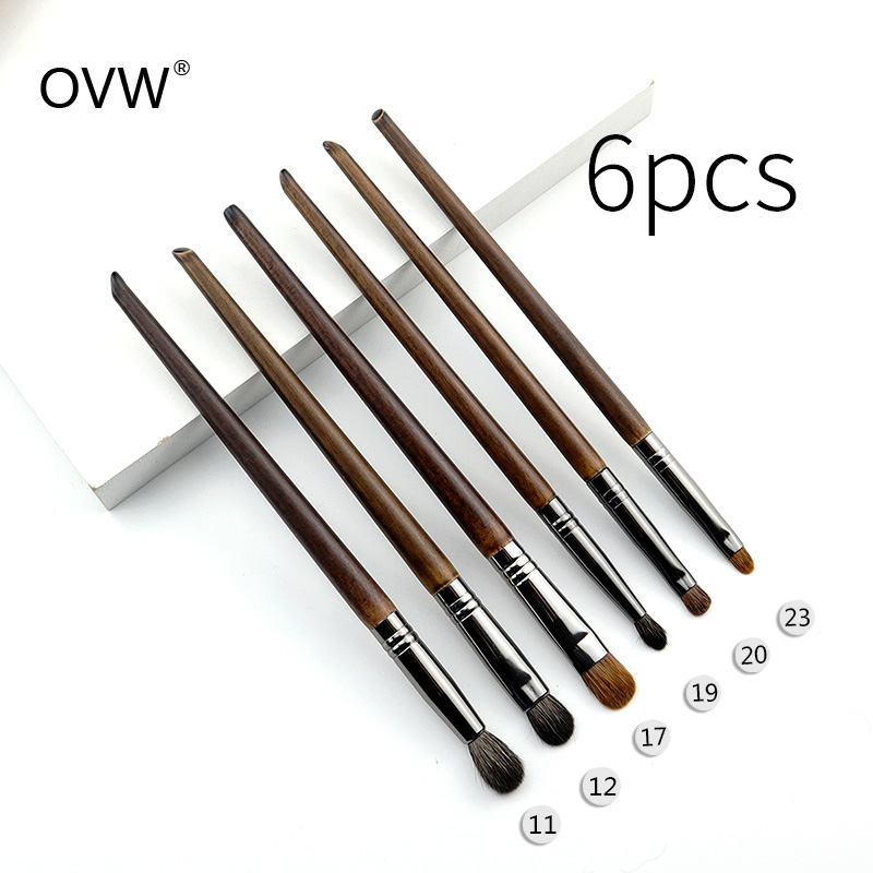 OVW pinceau de maquillage professionnel Set Point Shader petit pinceau de mélange pinceaux maquillage yeux pedzle do make up zestawy