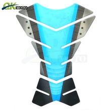 цена на Motorcycle Oil Gas Fuel Tank Pad Protector Carbon Fiber Sticker Motor Decal For Honda Hornet 600 CBR600RR CB1000R CBR600F CB500X