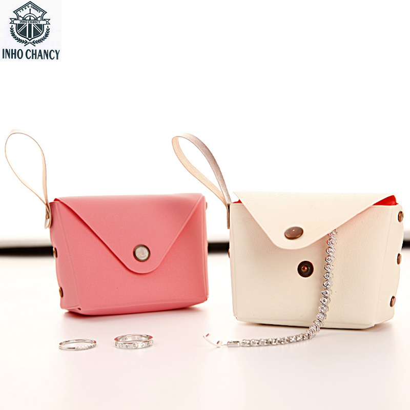 INHO CHANCY Korean Style Lovely Candy Color Small Coin Purse Women Jewelry Storage Bag Female Change Wallet Free Shipping товары для женщин lovely jewelry