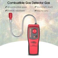 Gas Analyzer Car Detector Automotive Combustible Gas Leak Tester Gas Leakage Location Determine Diagnostic Tool Sound