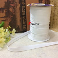 3cm Wrapped With White Ribbon DIY Bow Hand Woven Fabric Clothing Accessories Wedding Gift Packaging