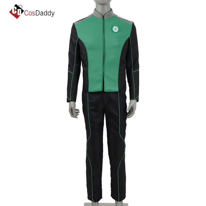 The Orville Cosplay Costume Women Dr Claire Finn Green Clothes Uniform CosDaddy
