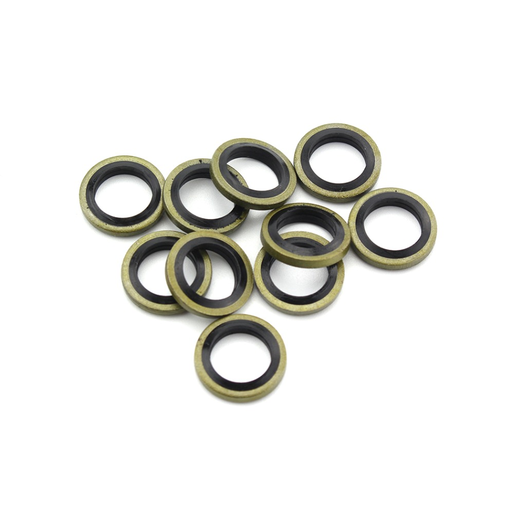 PCP Airfore Airsoft Pneumatics Air Seal M10 High Pressure Gasket Washer O-Ring Sealing For Mini Gauge Couplers Socket 20PCS/LOT