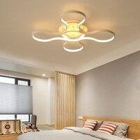 Acrílico Plafon Moderno luzes de teto para sala quarto Branco Simples lâmpada do teto levou para casa iluminação AC85-260V