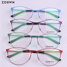 4 colors Mix wholesale manufacture Fashion Optical Glasses women cat eye frame Men Women gafas Womens Frames