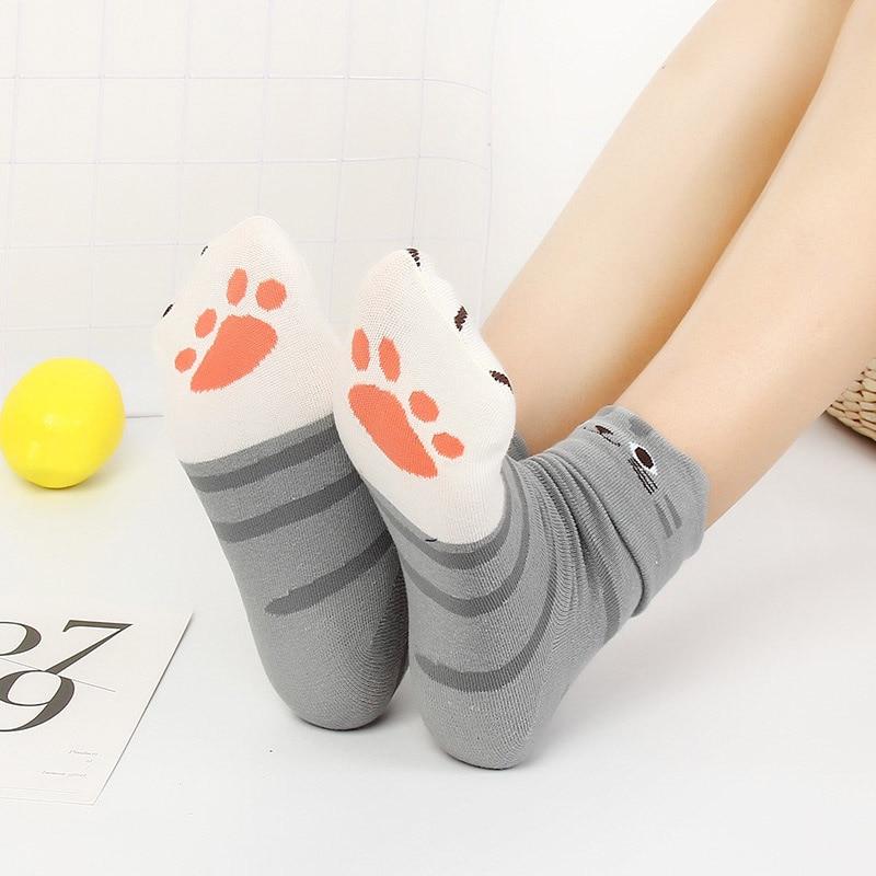 Small Ear Cartoon Animal Series Cute Socks