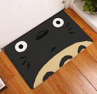แมวอ้วนการ์ตูนลื่นไถลเสื่อพีวีซีสักหลาดประตูฮอลล์ห้องนั่งเล่นห้องน้ำ