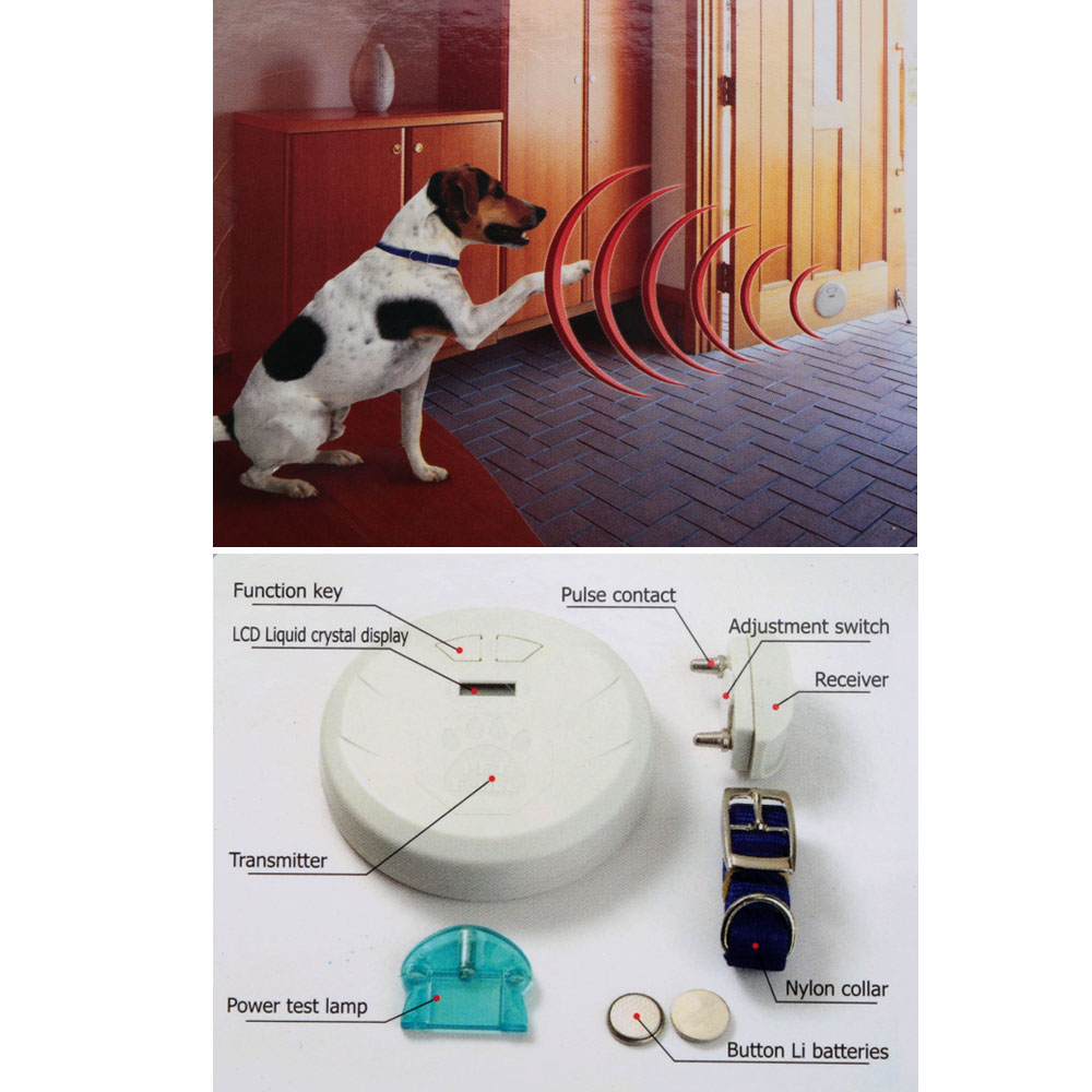 Indoor Pet Dog Fence Best LCD Digital Wireless Electronic Fence Pet ...