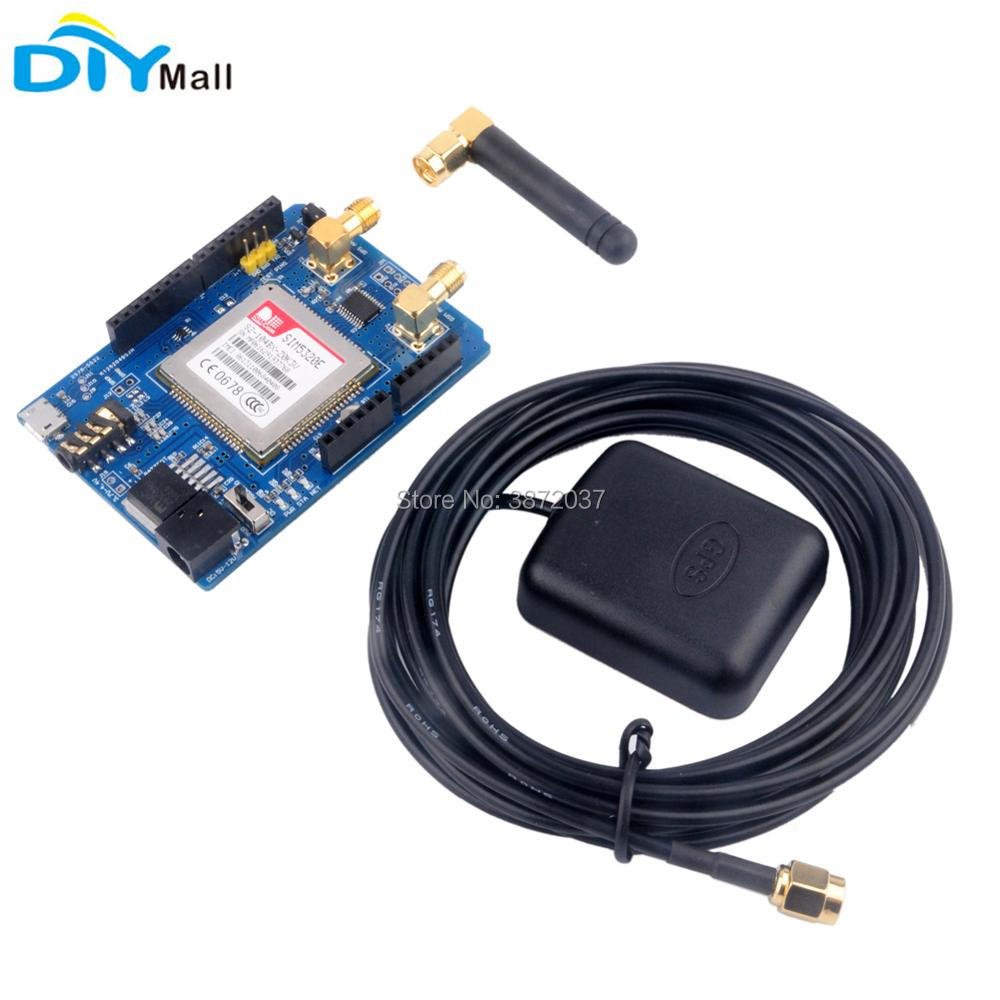 3G Module SIM5320E Development Board GSM GPRS Expansion Board Quad-band Antenna for Arduino high performance microcontroller development board module for arduino nano v3 0