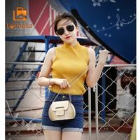 Loshaka Phone Purse Women Small Bag Imperial Crown PU Leather Women Shoulder Bag Small Shell Crossbody