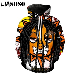 Image 5 - LIASOSO חורף חדש גברים נשים סווטשירט 3D הדפסת שיר Glo כנופיית הסווטשרט אנימה Harajuku יוניסקס ארוך שרוולים מזדמן בסוודרים a133 08