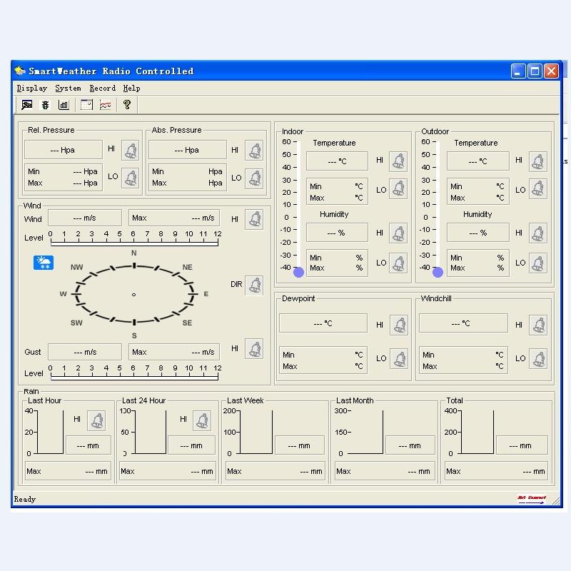 Vezeték nélküli meteorológiai állomás PC Link-rel Háztartási - Mérőműszerek - Fénykép 6