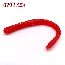 YTFITASH Slow Sinking Trout Worm Soft Baits 11.5cm 4.2g Artificial Fishing Lures Sea Worms Earthworm Fishing Soft Lures Wobblers 12pcs bag fisher hunter brand soft baits fishing lure 68mm 2 3g slow sinking lures soft fishing lures soft bait free shipping