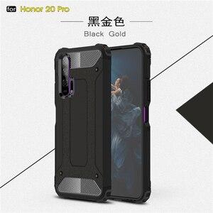 Image 2 - Pour Huawei Honor 20 Pro étui armure en caoutchouc robuste étui rigide pour Huawei Honor 20 Pro couverture pour Honor 20 Pro étui Youthsay