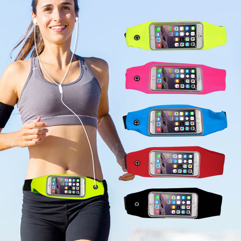 Hot Sale Waterproof Sport Gym Waist Bag For iPhone 6 Plus For Samsung Galaxy S7/S6 Plus Edge A7 A8 A9 A7 Outdoor Running Bag