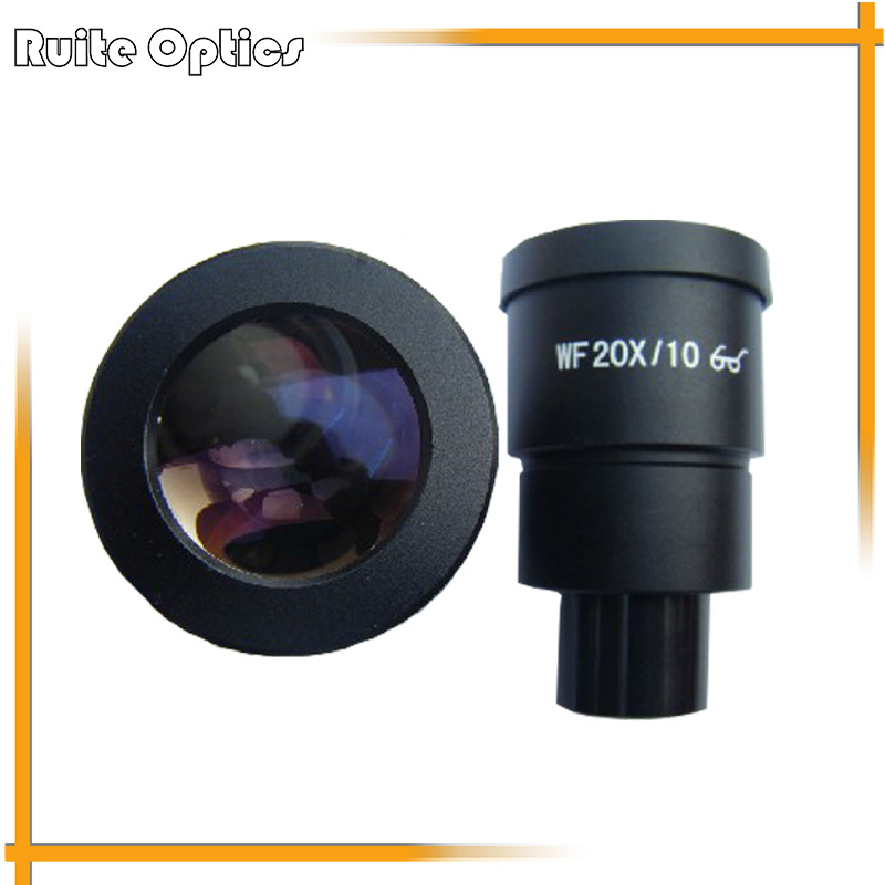 New Pair of WF20X High Eye-Point Eyepieces for Zoom Stereo Microscope with Mounting Size 30mm aiboully 20x eyepieces for a variety of stereo microscopes interface size 30mm universal size lens coating high point of view