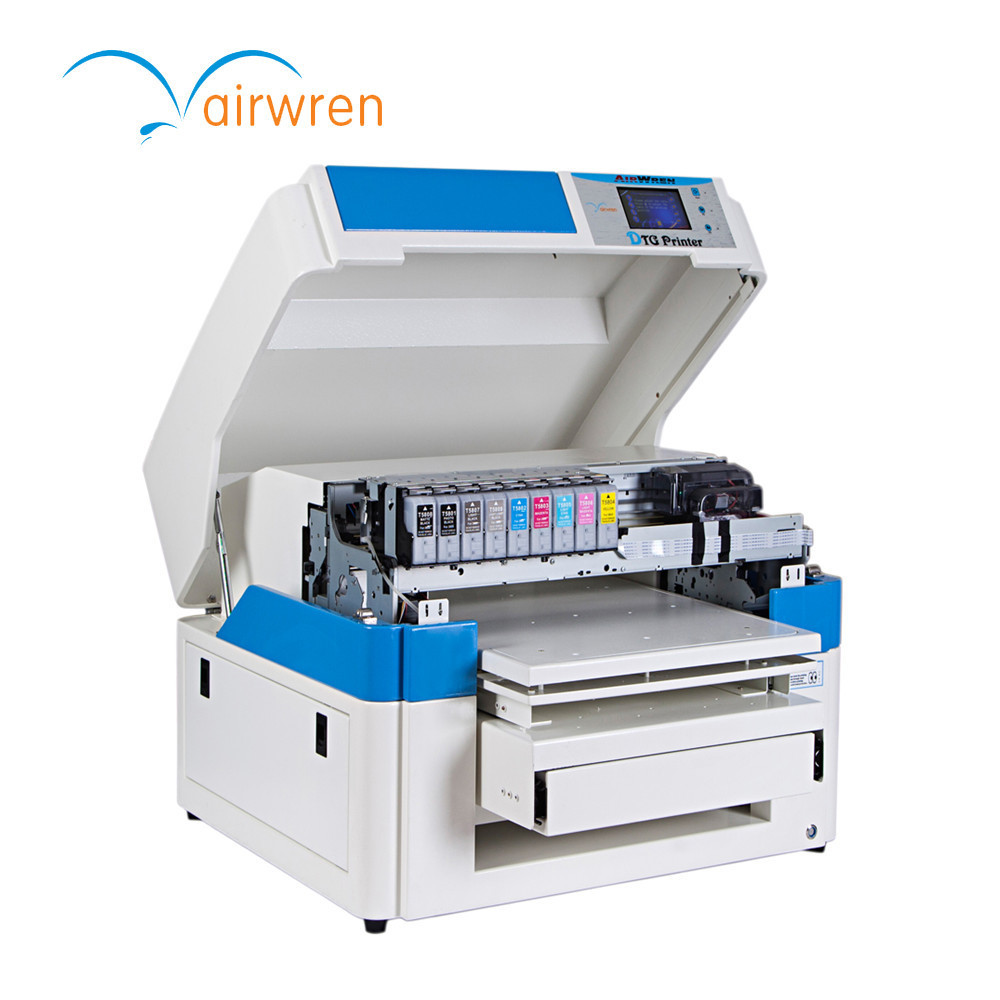 US $3790 0 |Easy Operation A2 Size 6 Color Digital T Shirt Printer DTG  Printing Machine For Black T Shirt-in Printers from Computer & Office on