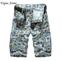 Fashion style new men's military shorts cargo casual beach wear summer men short trousers shorts plus size 30-40