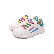 Дитячі взуття для дівчаток 2018 Весна Осінь Діти Кросівки Хлопчики Спортивні взуття Діти Повсякденні Кросівки Дівчата Резинове взуття Flat