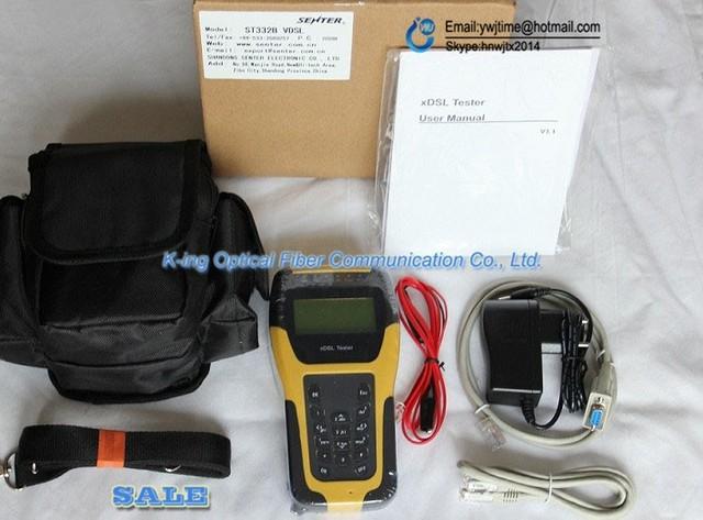 Nova marca Multi-funcional ST332B ADSL2 + Tester/ADSL Tester/ADSL Ferramentas de Instalação e Manutenção