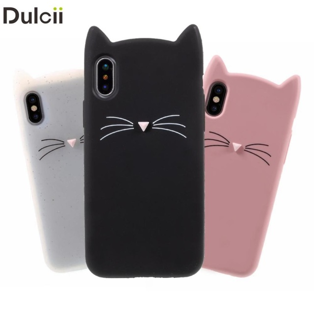 coque iphone 4 chat 3d