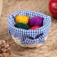 1:12 кукольный домик Миниатюрный Мини-инструмент для вязания шерсти аксессуары для кукол игрушки коллекционный подарок для семьи