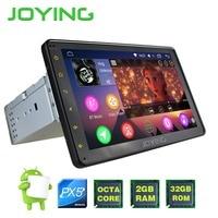 JOYING PX5 8 Core 1din 8 HD Screen Android 6 0 Car Radio GPS Navigation Head