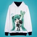 SNOW YUKI Miku Jackets Coats Sakura Hatsune Miku Hoodies Autumn winter Anime VOCALOID Sweatshirts