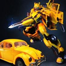 все цены на NEW Transformation Black Mamba Zoom SS18 Beetle car male  MP-21 H6001-3 Wasp Warrior PVC Action Figure Toys With Box онлайн