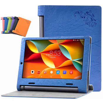 Case for Lenovo YOGA Tablet 3 10 PU Leather Funda for Lenovo YOGA Tab 3 10 YT3-X50 X50F X50M X50L Tablet Case+Touch Pen - DISCOUNT ITEM  10% OFF All Category