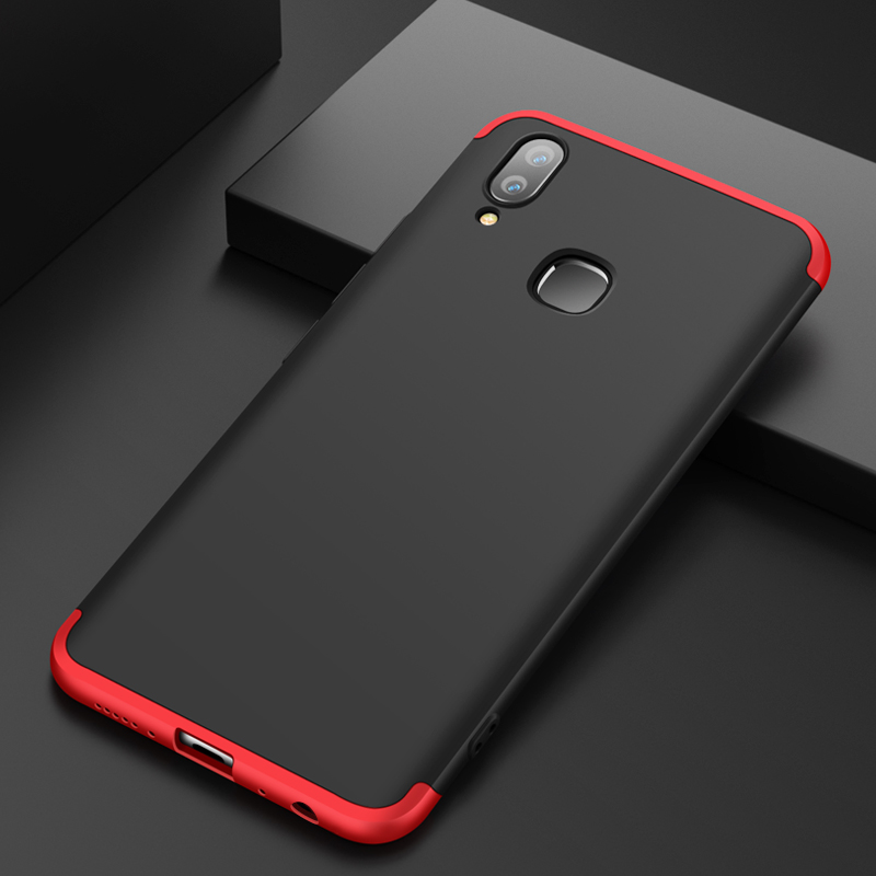 huge discount 1cf0b cc191 US $4.99 |VIVOY85 360 Degree Full Protection Hard Case For VIVO Y85 Back  Cover shockproof case For VIVO Y85 Y 85 case + glass-in Fitted Cases from  ...