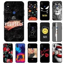 цена Ojeleye Fashion Black Silicon Case For Xiaomi Mi Mix 3 Cases Anti-knock Phone Cover For Xiaomi Mi Mix 3 6.5 inch Covers