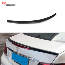 Mercedes AMG Style W207 Carbon Fiber Trunk Spoiler Add-on for Mercedes W207 2010 + Rear Spoiler