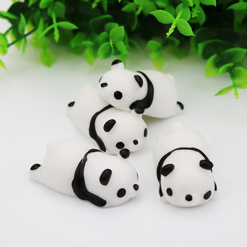 1pc Super Cute Cartoon Panda Toys Squeeze Antistress Toys Pop Doll Novelty Stress Relief Vent Joking Decompression Funny Toy