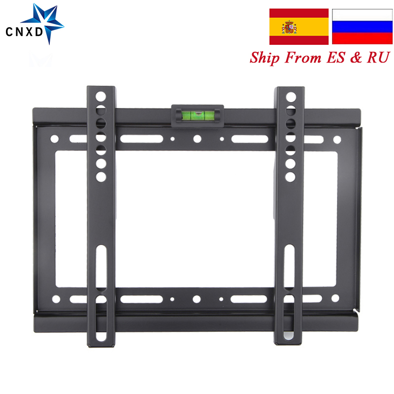 Slim LCD LED Plasma Fixed TV Wall Mount Bracket 14~32 Inch Max VESA 200*200mm Super Strong 88lbs Weight Capacity|tv wall mount bracket|wall mount bracket|tv wall - title=