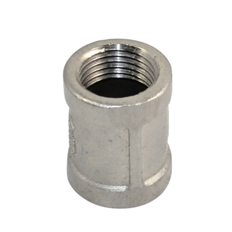 1 pc New Nipple 1/2 female - 1/2 304 Stainless Steel threaded coupling Pipe Fitting NPT