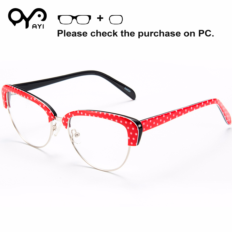Ayi Mode Acetat Optische Klar Transparent Glassesfframe Brillen Rahmen Brillen Myopie #638116