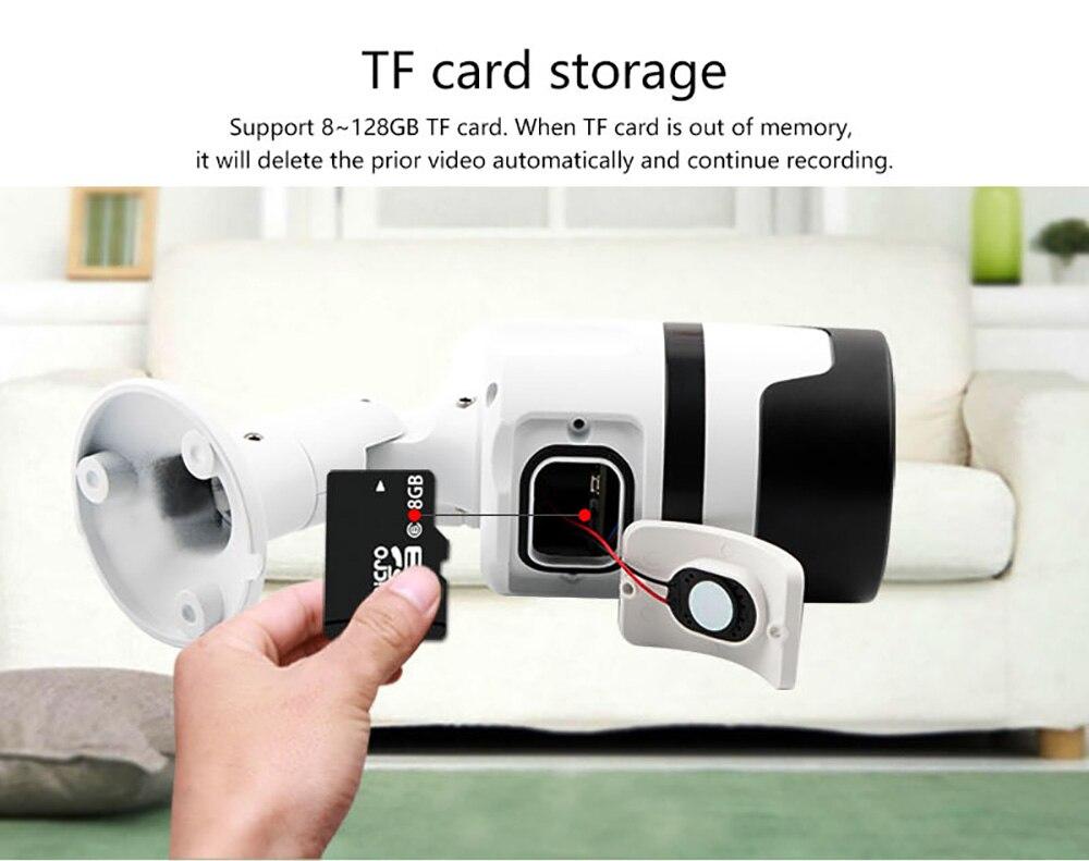 N_eye IP Camera 1080P 3MP CCTV Camera With IR Night Vision Waterproof  Wireless Security IP Bullet Camera C30