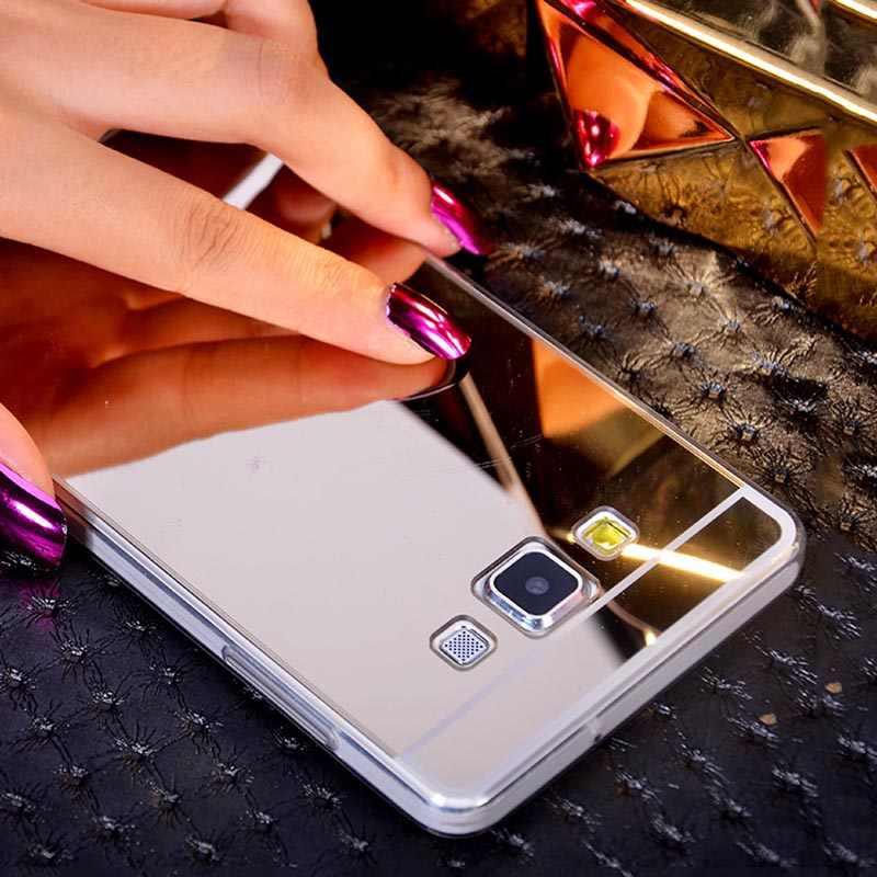 Silicone souple Miroir étui pour vivo X5 Pro X6 X Play 5 6 V3 X5 Max X7 X9 X9S X20 Plus Y31 Y33 Y35 Y37 Y51 étui de luxe Couverture de Téléphone