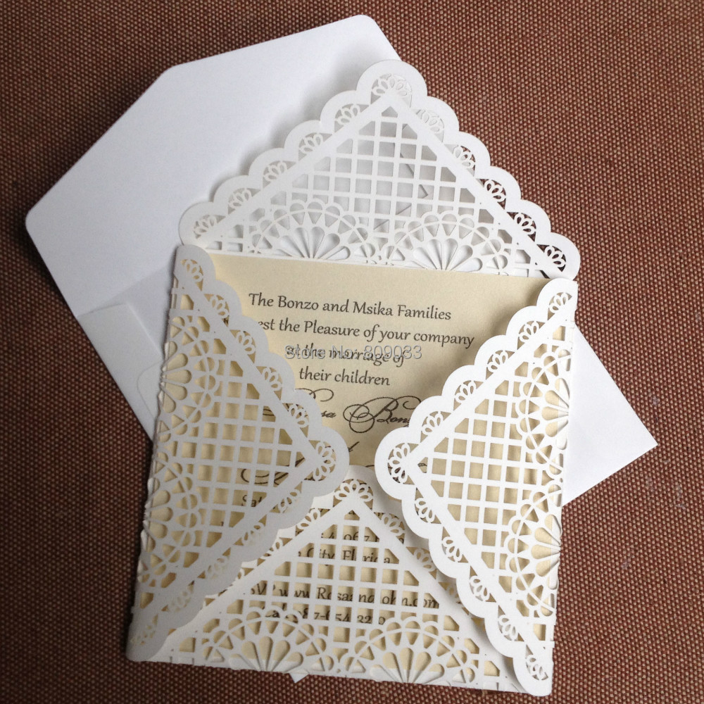 laser cut wedding invitations laser cut wedding invitations Pocketfold from 3 95 More Info Diamond Flap Laser Cut Wedding Invitation