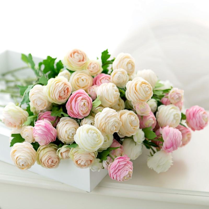 silk flower rose peony home decor (1)