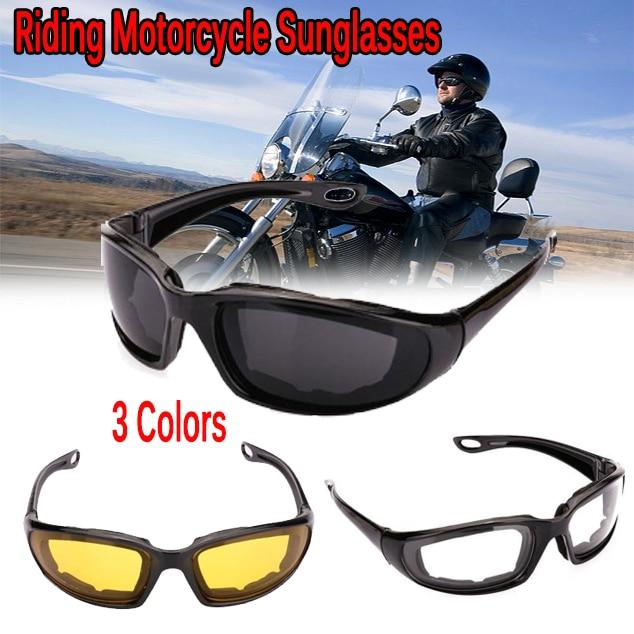 Riding Motorcycle Sunglasses Outdoor Sports Cycling Goggles Bike Black Frame Eyewear Windproof Lightproof Motorbike Men Eyewear Pakistan