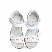 Fashion 1pair Flower Orthopedic Sandals Children shoes , super quality Kid Girl Sandals