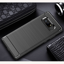 For Samsung Galaxy Note 8 Case Note 8 Cover Luxury Silicone Carbon Fiber Cover For Galaxy Note 8 Case For Samsung Note 8 Case