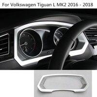 Car Garnish Cover Trims Dashboard Meter Instrument Panel Gauge Frame 1pcs For Volkswagen VW Tiguan L