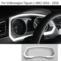 Car Garnish Cover Trims Dashboard Meter Instrument Panel Gauge Frame 1pcs For Volkswagen VW Tiguan L
