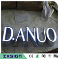 Factory Outlet high brightness Outdoor illuminated front light acrylic led letters for shop signage