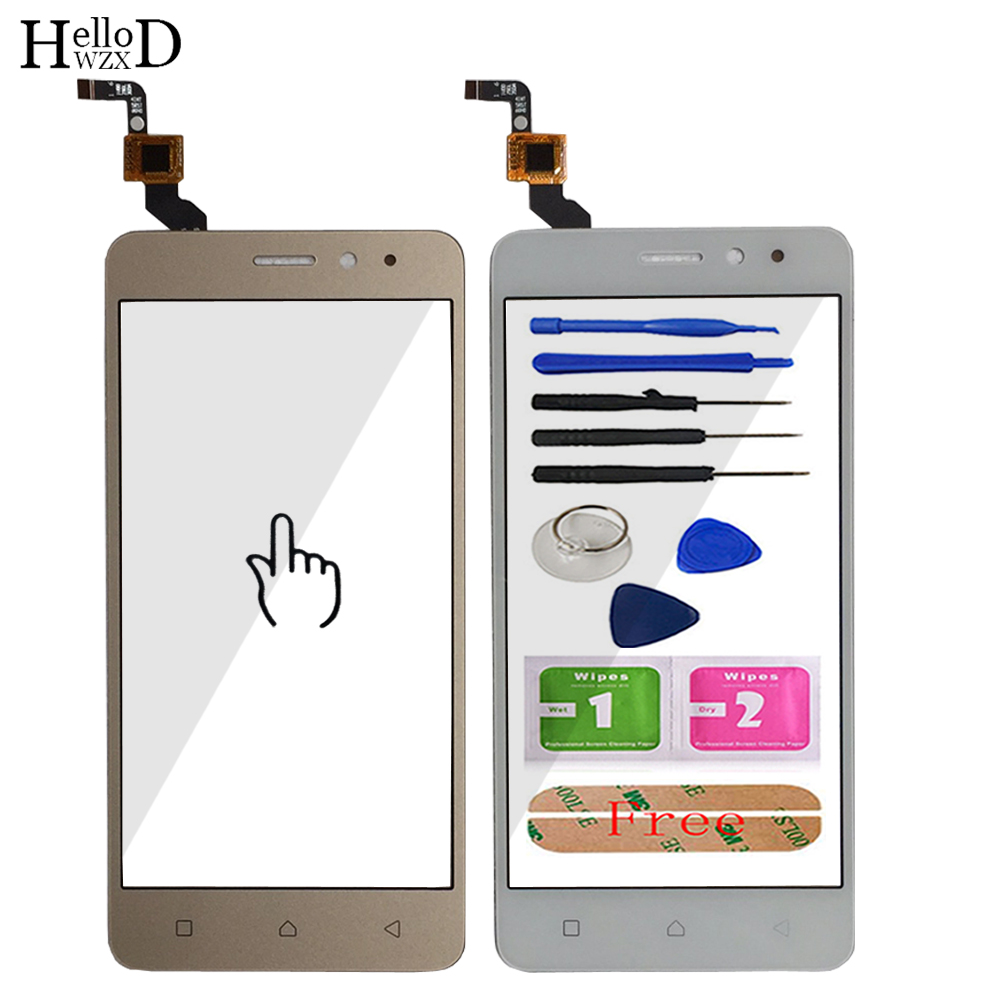 Mobile Touchscreen Touch Screen Front For Lenovo K6 Power Touch Screen Glass Digitizer Panel Sensor Flex Cable Adhesive Tools